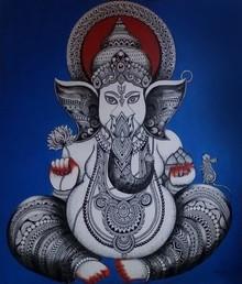 #ganesha #anjalidoodleart #doodleart #canvas