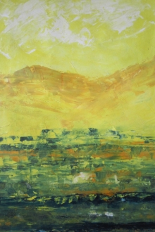 Anamika S Paintings | Acrylic Painting - Landscape 201913 by artist Anamika S | ArtZolo.com