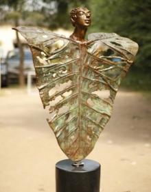 Shivarama Chary Y | Unique Form Sculpture by artist Shivarama Chary Y on Bronze | ArtZolo.com