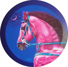 Animals Acrylic Art Painting title Dream Horse by artist Sanket Sawant