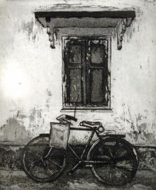 Attri Chetan | Story Behind Every Window 2 Printmaking by artist Attri Chetan | Printmaking Art | ArtZolo.com