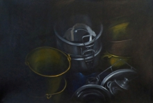 contemporary Acrylic Art Painting title Untitled by artist Divya Chinni