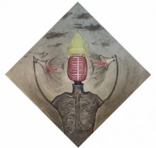 Prashant Kuwar | Fake Speech Printmaking by artist Prashant Kuwar | Printmaking Art | ArtZolo.com