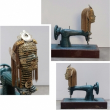 Mixedmedia Sculpture titled 'Untitled 2' by artist Artist Yusuf