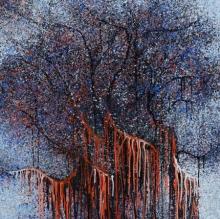 Nature Acrylic Art Painting title 'Anugrah' by artist Aparna Bidasaria