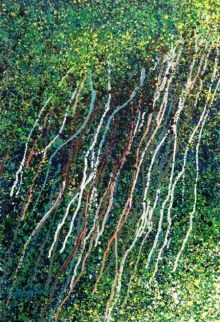 Nature Acrylic Art Painting title 'Banyan Series 4' by artist Aparna Bidasaria