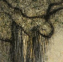 Nature Acrylic Art Painting title 'Maayika' by artist Aparna Bidasaria