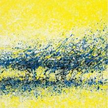 Abstract Acrylic Art Painting title 'Umang' by artist Aparna Bidasaria