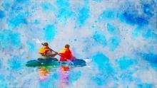 art, digital painting, canvas, figurative