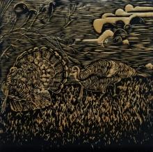 Swati Siwach | Joy Of Life Ii Printmaking by artist Swati Siwach | Printmaking Art | ArtZolo.com