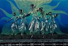 Swati Siwach | Soul In Pain 2 Printmaking by artist Swati Siwach | Printmaking Art | ArtZolo.com