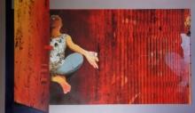 contemporary Acrylic Art Painting title Meditation by artist Nayanjeet Nikam